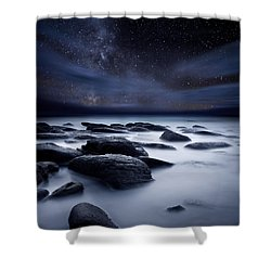 Shadows Of The Night Shower Curtain