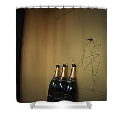 Shower Curtain featuring the photograph Shadows by Rachel Mirror