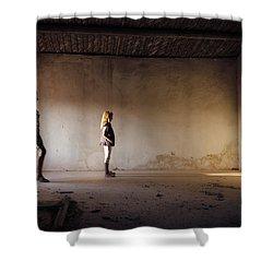 Shadows Reborn - Convergence Shower Curtain