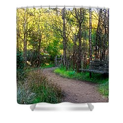 Shower Curtain featuring the photograph Shady Dell by Kate Brown