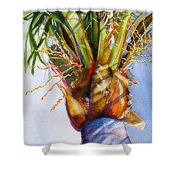 Shady Palm Tree Shower Curtain