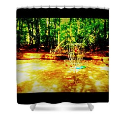 Shady Tee Shower Curtain