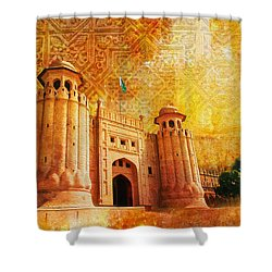 Shahi Qilla Or Royal Fort Shower Curtain by Catf