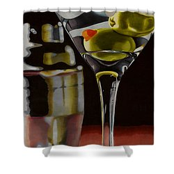 Shaken Not Stirred Shower Curtain