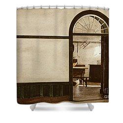 Shaker Pegs Shower Curtain