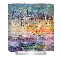 Shallow Water - Sold Shower Curtain by George Riney