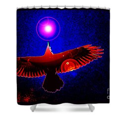 Shower Curtain featuring the photograph Shamanic Dream by Susanne Still