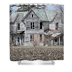 Shame Shower Curtain by Bonfire Photography