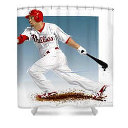 Shane Victorino Shower Curtain