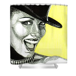 Shania Twain Shower Curtain