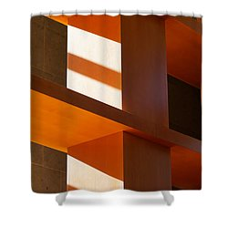 Shapes And Shadows 2 Shower Curtain by Ernie Echols