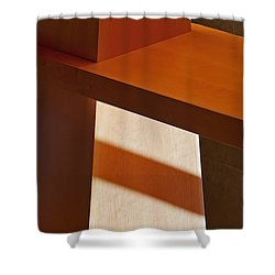 Shapes And Shadows Shower Curtain by Ernie Echols