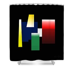 Shapes Colors In 12x12 Shower Curtain