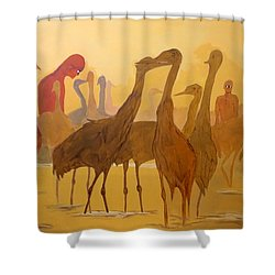 Shapes Just Shapes Formas Nada Mas Shower Curtain