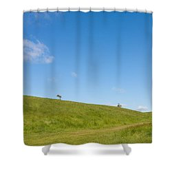 Shapes Of Nature Part Three Shower Curtain by Semmick Photo