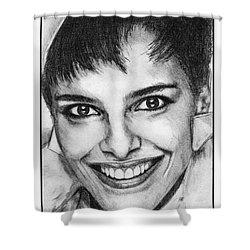 Shari Belafonte In 1985 Shower Curtain by J McCombie
