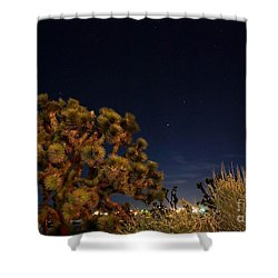 Shower Curtain featuring the photograph Sharing The Land by Angela J Wright