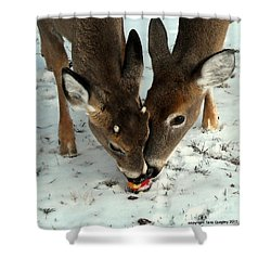 Sharing The Love Shower Curtain