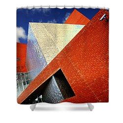 Sharps Shower Curtain by Wayne Sherriff