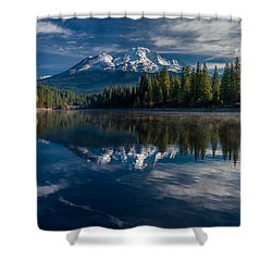 Shasta And Lake Siskiyou Shower Curtain