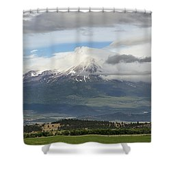 Shasta W Clouds Shower Curtain