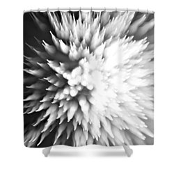 Shattered Shower Curtain by Dazzle Zazz