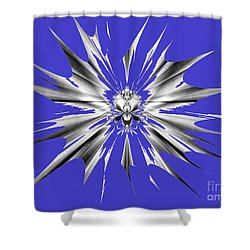 Shattered Shower Curtain by Renee Trenholm
