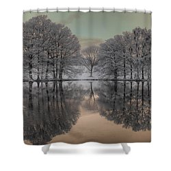 Shaw Nature Reserve Shower Curtain by Jane Linders
