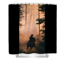 Shayna Shower Curtain by Diane Bohna