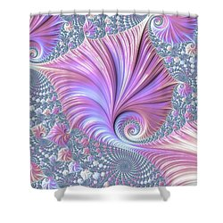 She Shell Shower Curtain by Susan Maxwell Schmidt