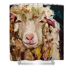 Sheep Alert Shower Curtain