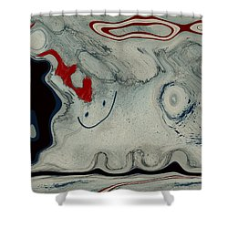 Sheep Or Not So - Bl04h01 Shower Curtain by Variance Collections