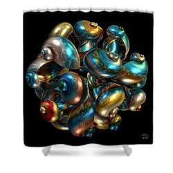 Shell Congregation Shower Curtain
