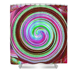 Shell Shocked Shower Curtain by Catherine Lott