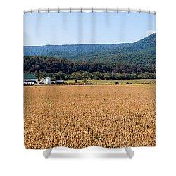 Shenandoah Valley Panorama Shower Curtain