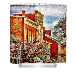 Shepherdstown - East German Street In November Shower Curtain