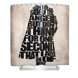Sherlock - Benedict Cumberbatch Shower Curtain