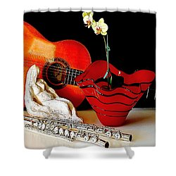 Shower Curtain featuring the photograph Sherrie's Delight by Elf Evans