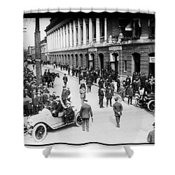Shibe Park 1914 Shower Curtain by Bill Cannon