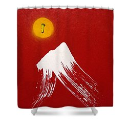 Shidare Tsuki Shower Curtain by Roberto Prusso
