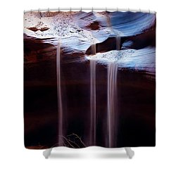 Shifting Sands Shower Curtain by Dave Bowman