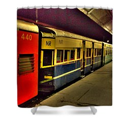Shimla Toy Train Shower Curtain by Salman Ravish