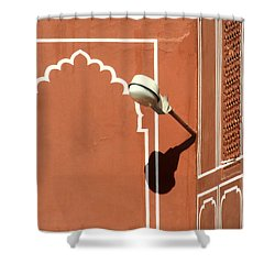 Shine Shower Curtain by A Rey