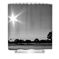 Shower Curtain featuring the photograph Shine And Rise by Faith Williams