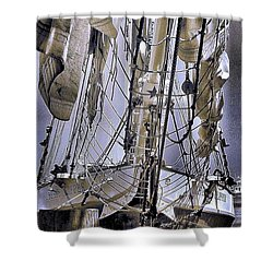 Shining Sea Shower Curtain