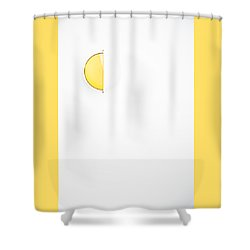 Ship Light Shower Curtain by Darryl Dalton