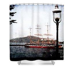 Clipper Ship Shower Curtain