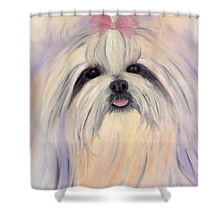 Shitzu Essence Shower Curtain