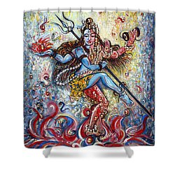 Shiv Shakti Shower Curtain