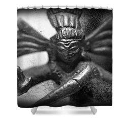 Shiva Nataraja  Shower Curtain by Tommytechno Sweden